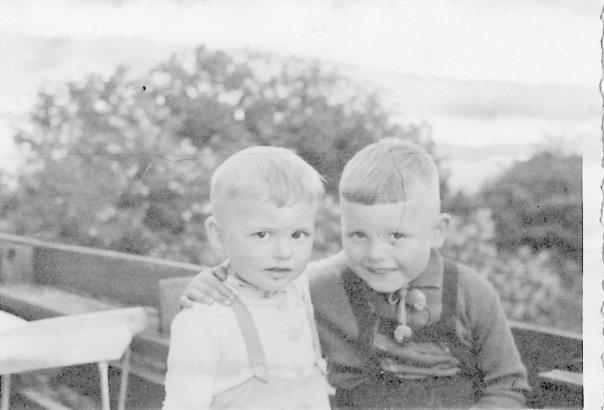Hansadutta and brother Horst