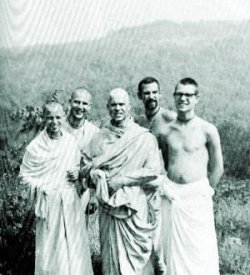 New Vrindaban devotees 1968