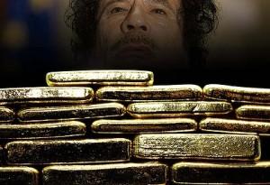Gaddafi's gold