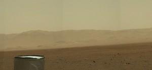 Mars landscape a la Curiosity
