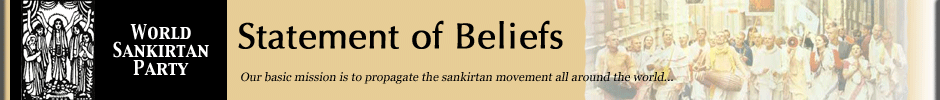 sankirtan movement